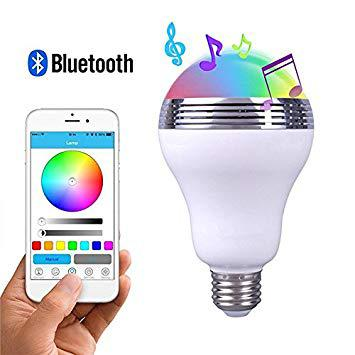 ampoule led enceinte bluetooth