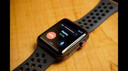 apple watch serie 3 test