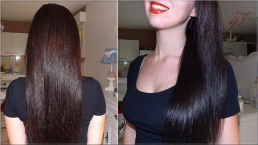 avoir cheveux lisse sans lisseur