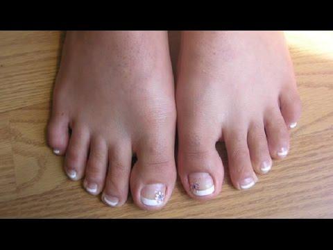 avoir de beaux ongles de pieds