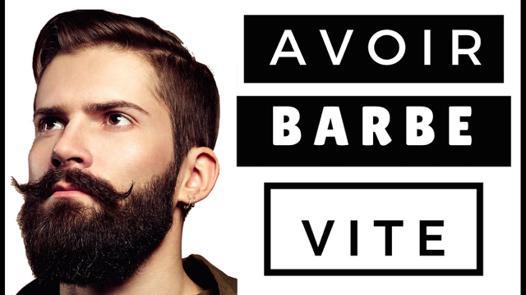 avoir de la barbe rapidement