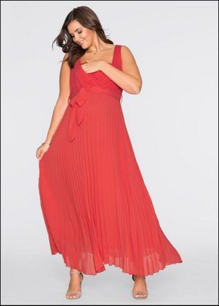 bon prix robe longue grande taille