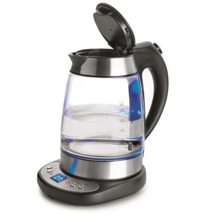 bouilloire verre température réglable