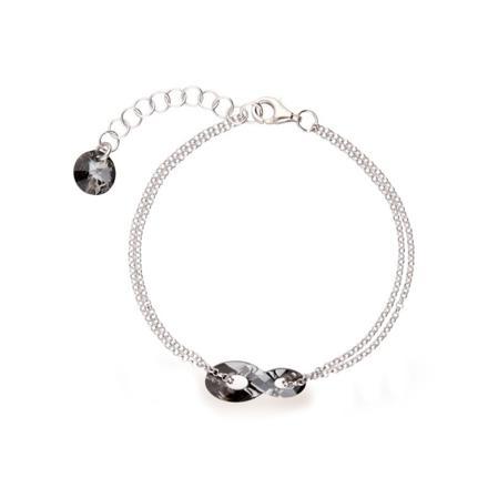 bracelet infini swarovski