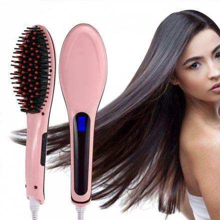 brosse cheveux lissante