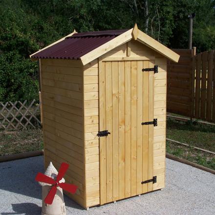cabane à outils de jardin
