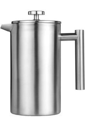 cafetière à piston inox
