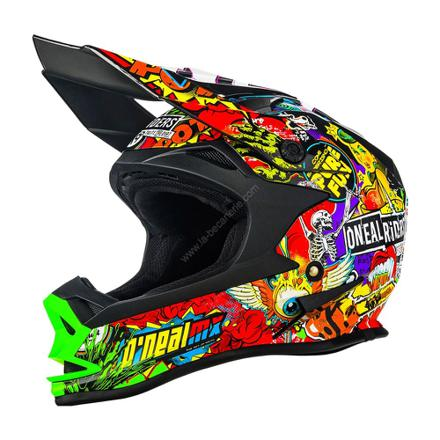 casque de moto cross