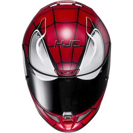 casque de moto spiderman