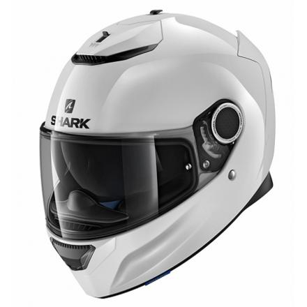 casque shark blanc
