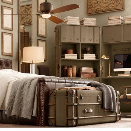 chambre style vintage