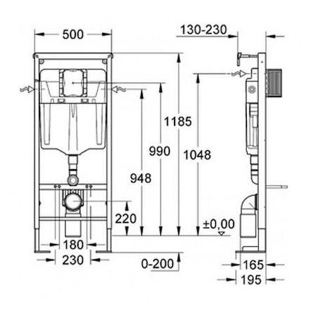 chassis wc suspendu