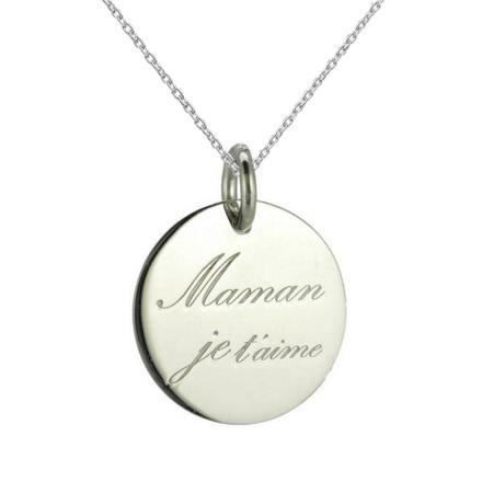 collier je t aime maman