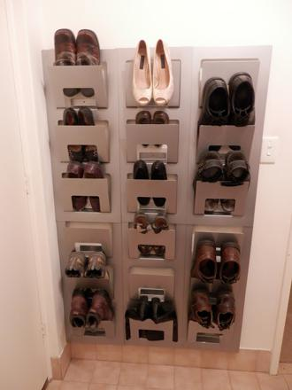 comment ranger chaussures