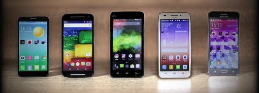 comparatif smartphone android moins de 200 euros