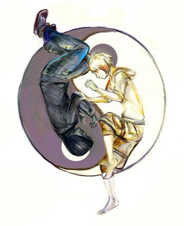 couple yin yang
