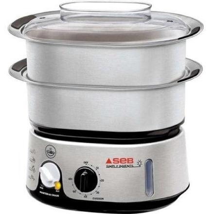 cuiseur vapeur inox verre