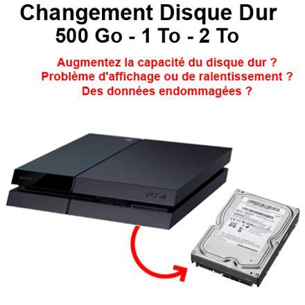 disque dur ps4