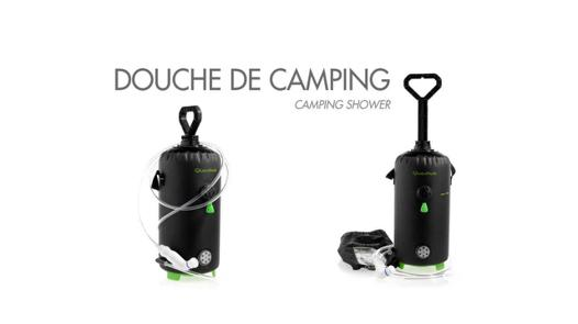 douche transportable camping