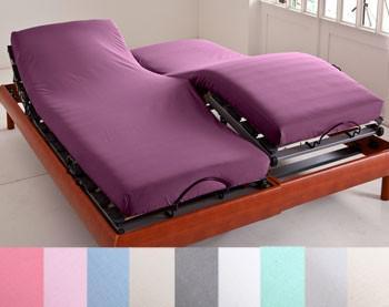 drap housse pour lit électrique