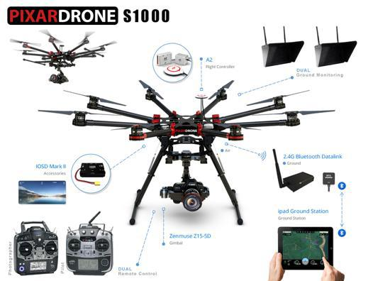 drone avec autonomie