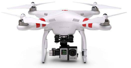 drone avec emplacement gopro