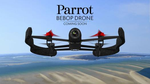 drone parrot video