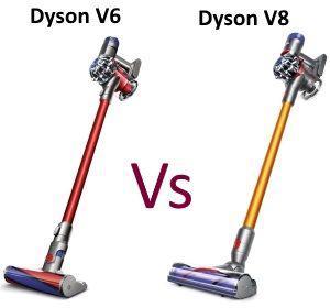 dyson v6 ou v8