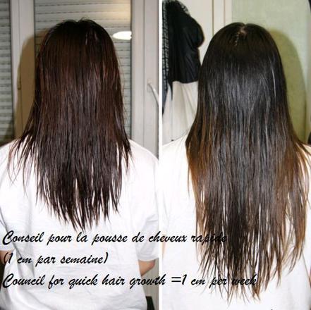 effet huile de ricin sur cheveux