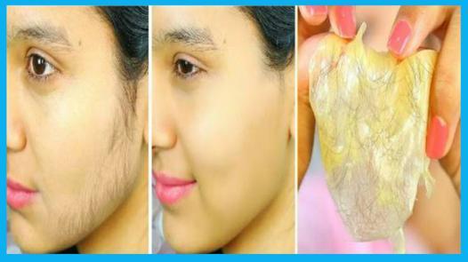 enlever les poils sur le visage