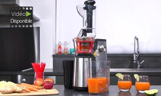 extracteur de jus h koenig à fruits entiers