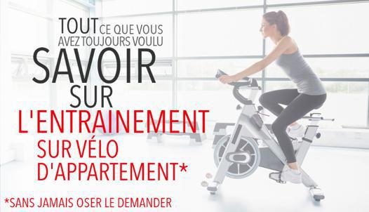 faire du velo appartement
