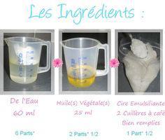 faire sa creme hydratante