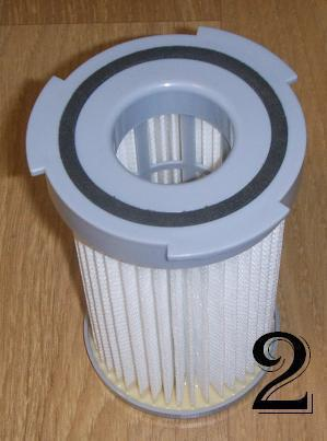filtre aspirateur sans sac
