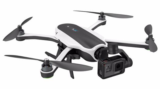 gopro and drone