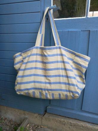 grand sac de plage familiale