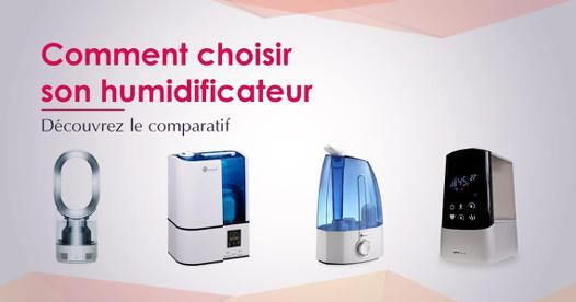 humidificateur comparatif