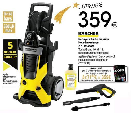 karcher k7 prix
