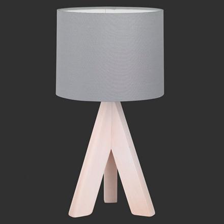 lampe de chevet grise