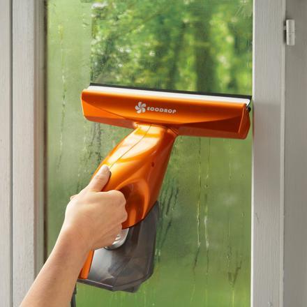 lave vitre vapeur