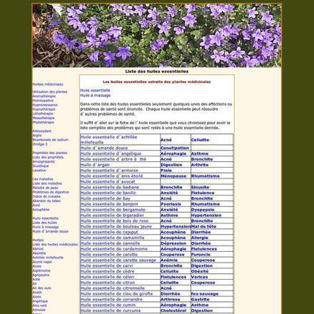 liste des huiles essentielles dangereuses