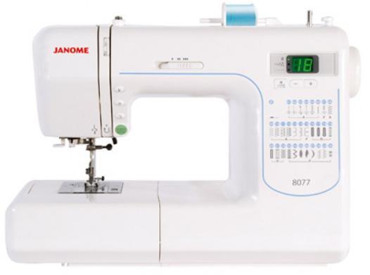 machine à coudre janome 8077
