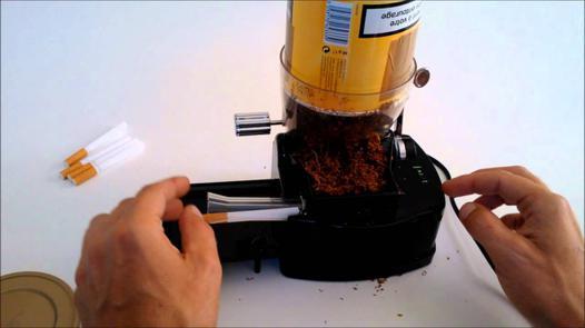 machine cigarette tubeuse electrique