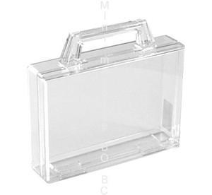 mallette transparente