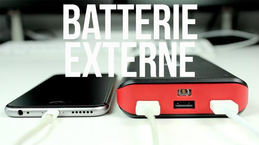 meilleur batterie externe