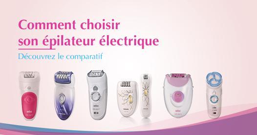 meilleur epilateur electrique femme