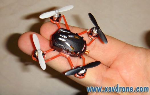 mini quadricoptère
