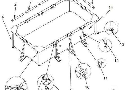 montage piscine intex tubulaire rectangulaire