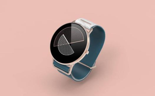 montre connectée design