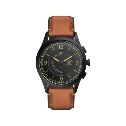 montre fossil cuir homme